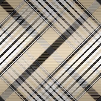 Padrão xadrez sem emenda. verifique a textura do tecido