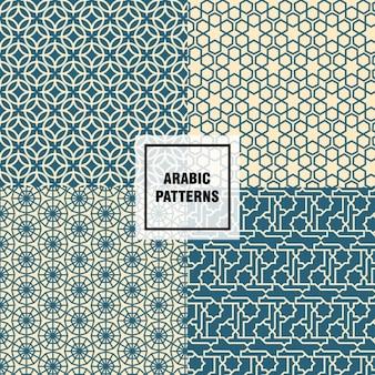 Padrões árabes agradáveis