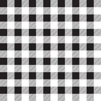 Padrões de bloco preto e branco