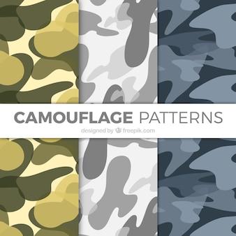 Padrões de camuflagem