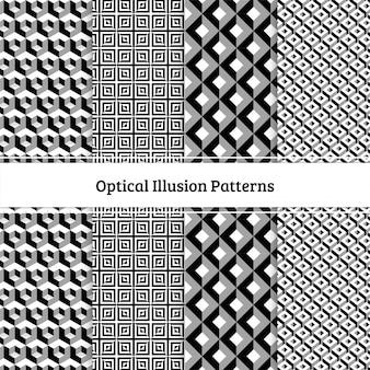 Padrões de ilusão de ótica