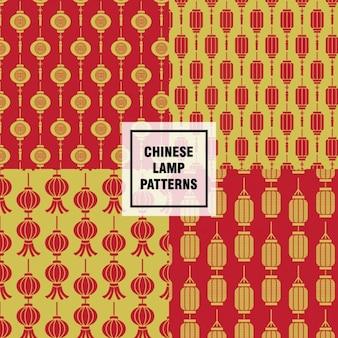 Padrões de lâmpadas chinesas