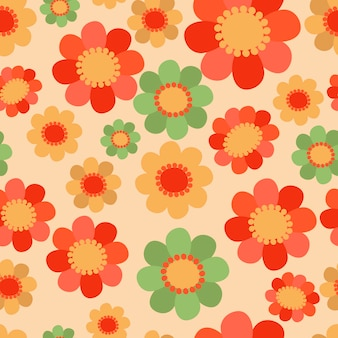 Padrões florais sem emenda
