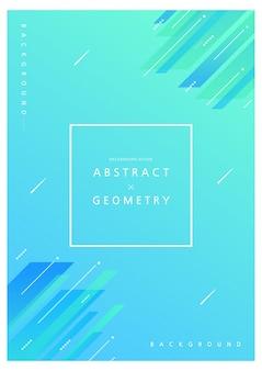 Padrões geométricos para webdesign. ilustração. brochura dwsign