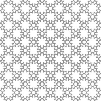 Padrões islâmicos de repetição geométrica perfeita