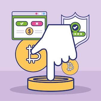 Pagamento bitcoin online
