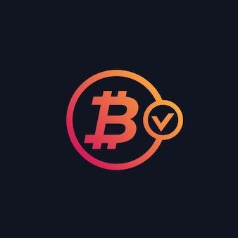 Pagamento de bitcoin aprovado