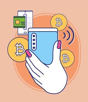 Pagamento em smartphone online