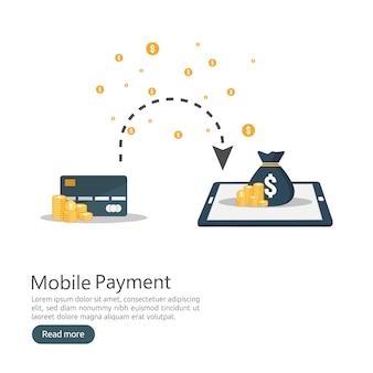 Pagamento móvel online