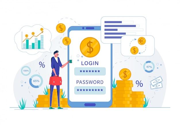Pagamento on-line e tecnologia de compra segura.