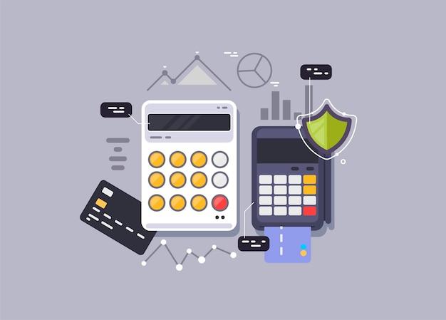 Pagamento seguro. pagamento online a todos os serviços.