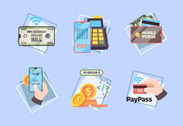 Pagamentos móveis. conceito de negócios fotos online banking nfc mobilidade sistemas inovadores telefone transação comercial