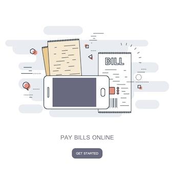 Pagar contas online