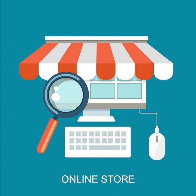 Pagar por clique e compras online