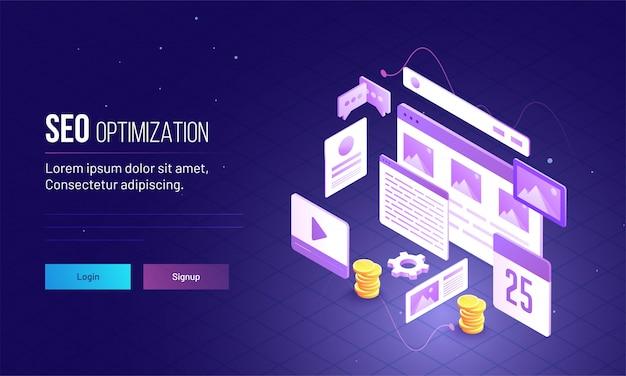 Página da web