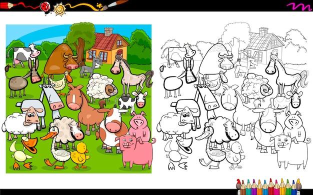 Página de colorir raças de cães