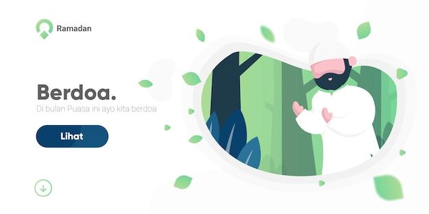 Página de destino ramadan
