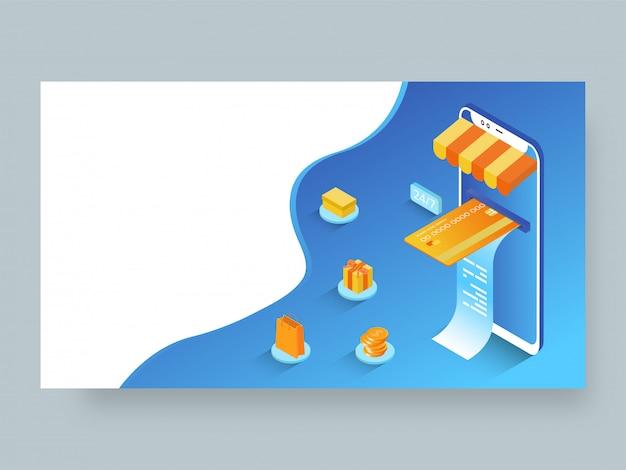 Página de destino responsiva ou modelo da web
