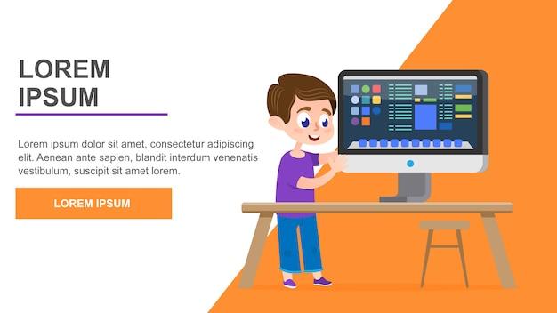Página de educação em informática