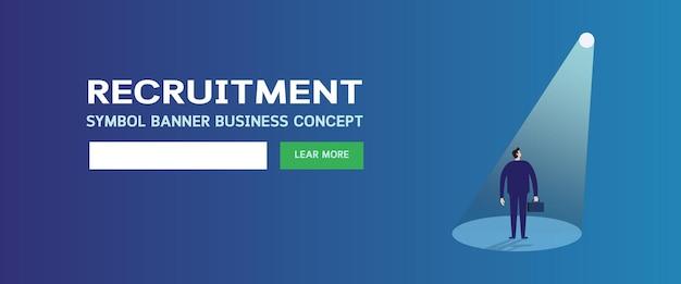 Página de recrutamento e contratação