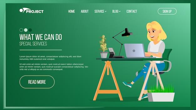Página do site