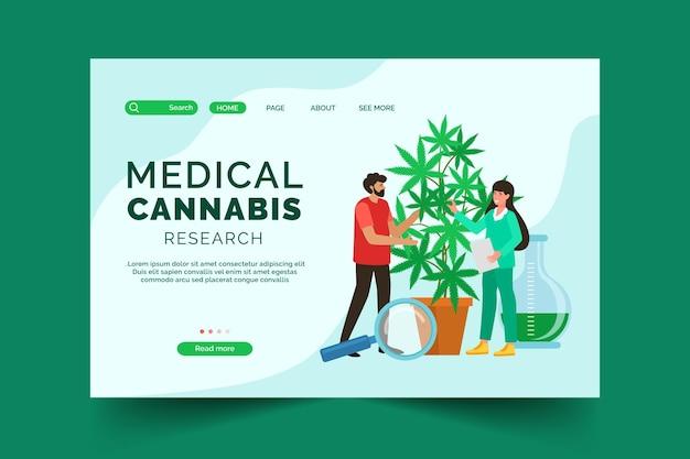 Página inicial da cannabis medicinal