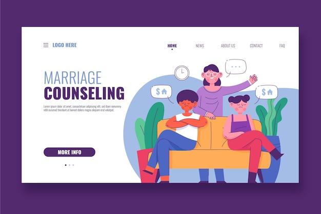 Página inicial de aconselhamento matrimonial