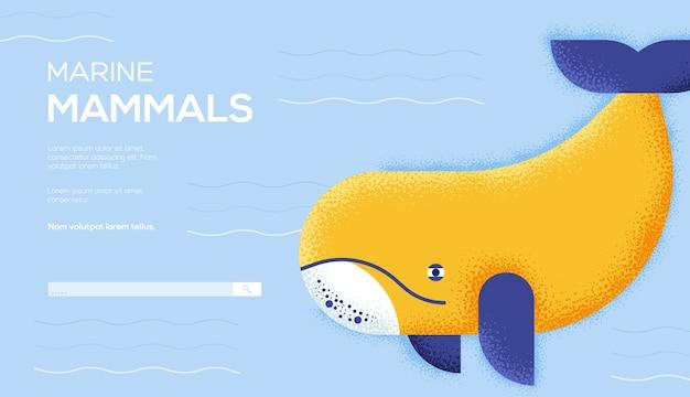 Página inicial de mamíferos marinhos