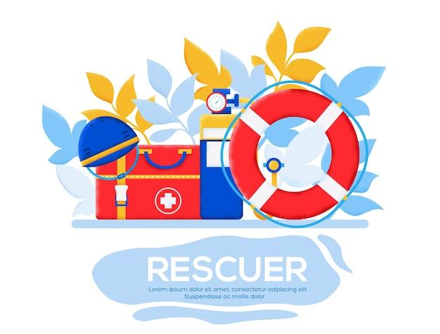 Página inicial do rescue