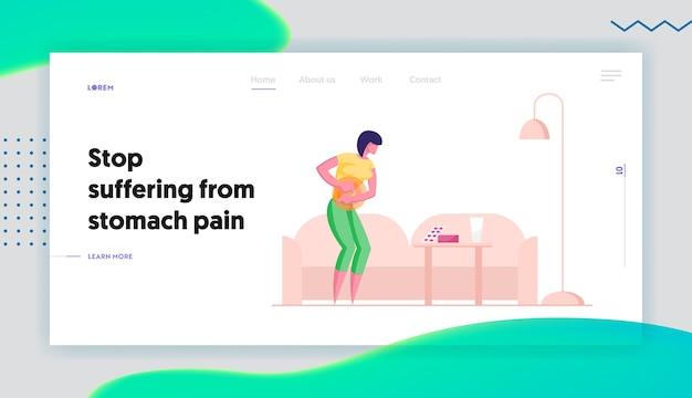 Página inicial do site sobre diarréia ou doença de constipação