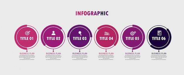 Painel de infográfico. características materiais, usadas para negócios em educação, futuristas, painel