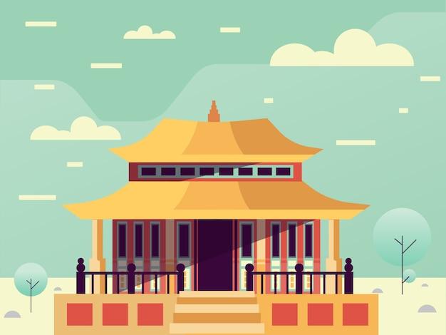 Paisagem arquitetura china