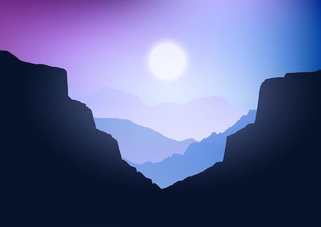 Paisagem canyon