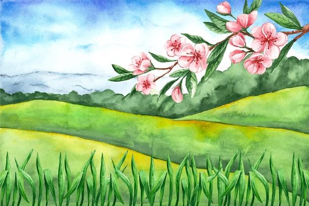 Paisagem de primavera