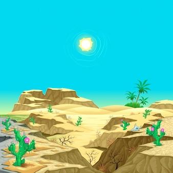 Paisagem do deserto