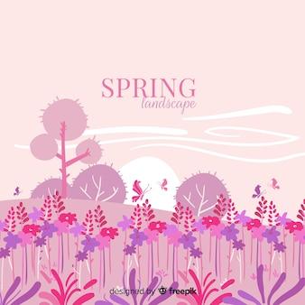 Paisagem primavera