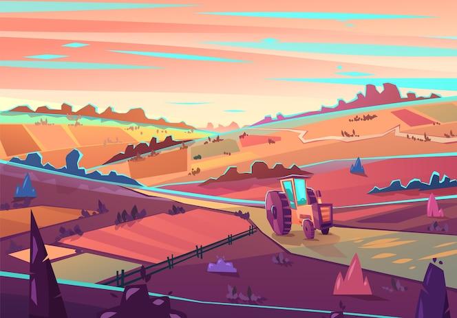 paisagem rural.