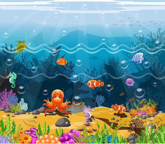 Paisagens sob o mar