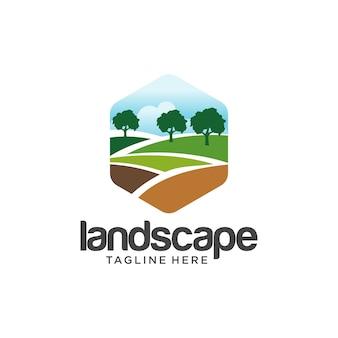 Paisagismo logo design