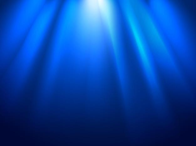 Palco brilhante com iluminação especial. layout de apresentação