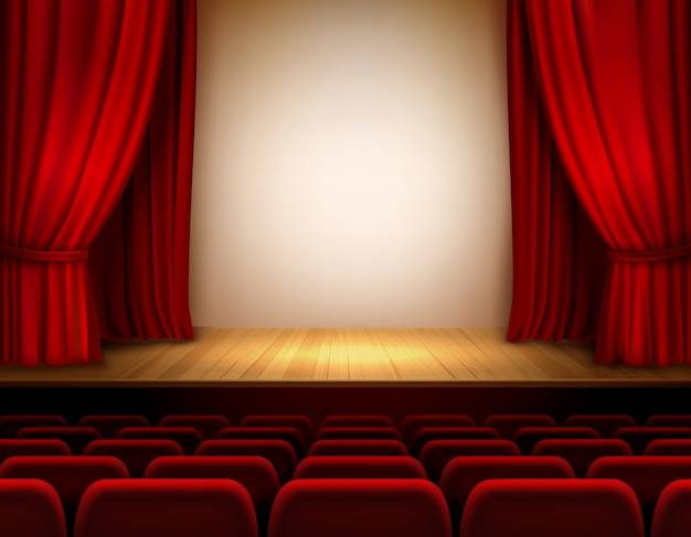 Palco do teatro