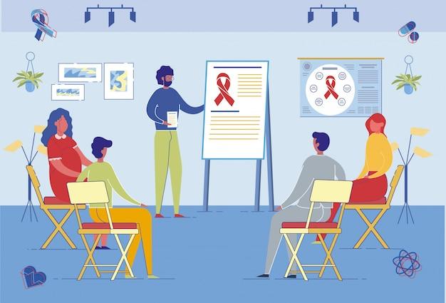 Palestra médica sobre prevenção e diagnóstico do câncer.