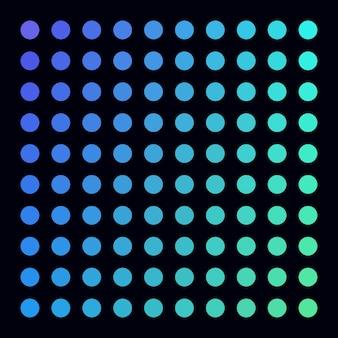 Paleta de cores vetoriais