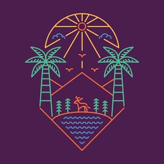 Palm e ao ar livre 3