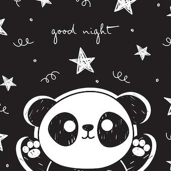 Panda adorável