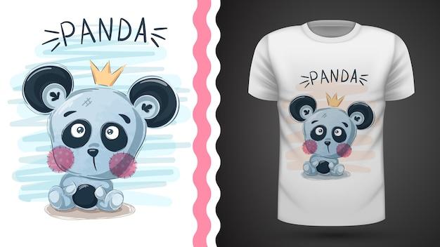 Panda bonito - idéia para impressão