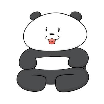 Panda dos desenhos animados