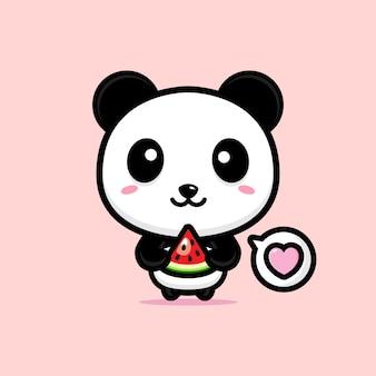 Panda fofo