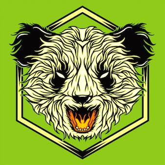 Panda louco