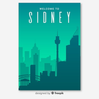 Panfleto de sydney